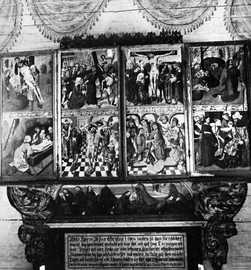 Altarskåpet under fastetiden