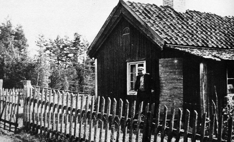 Nybygget under Haddarp. Ernst Malmgren.