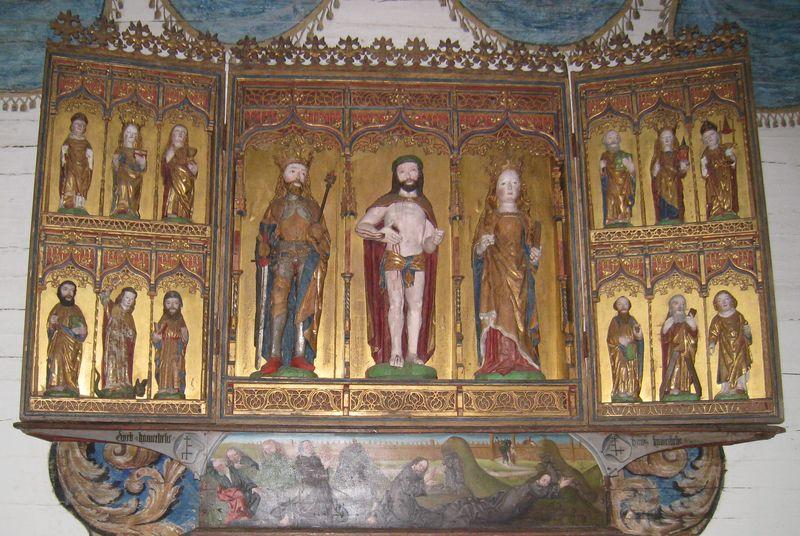 Altarskåpet i Näshults kyrka
